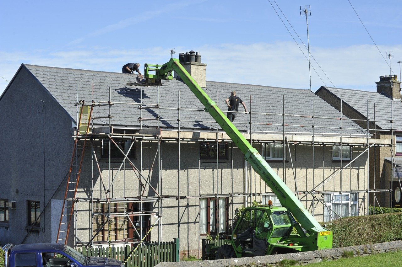 Roofers Dublin in Action